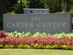 The carter center is very close by.