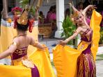 Have us arrange a Balinese dancer and gamelan performance for special events at Puri Dana.