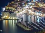 Dubrovnik at Night.