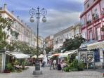 Plaza de las Flores, Cádiz/Square flowers, Cádiz