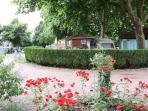 Mooi chalet op leuke camping in Etang sur Arroux 2