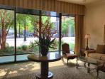 Lobby area at Peachtree Towers