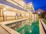 Swimming Pool & Balinese Garden