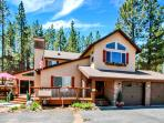 Camp Run A Muk Big Bear Lake is a beautiful 5 star private home rental that is new &family friendly.