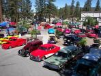 Big Bear has a couple classic car shows during the summer months.