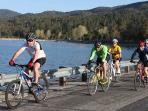 Big Bear is very cyclist friendly with many trails and paths for all levels of riders.