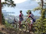 Try Mountain biking in our clean air and groomed trails.