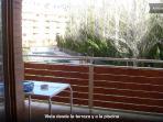 Terraza, mesa , 6 sillas