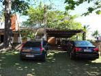 Garagem da casa