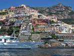 23 Positano from the sea