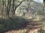 beautiful landscape for walking / prachtige omgeving om te wandelen