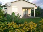 L'Oasis de Terre Rouge - Appartement Jacaranda - Terrasse