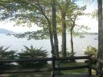 Right on the lake--No lake house is closer to the water than Ossipee Lake House.
