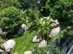 Villa Seawadee rock garden