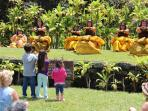 A Hula Performance at Hawaii Volcanoes National Park.