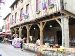 Mirepoix a lovely medieval city