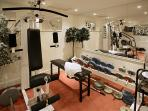 The Workout Room in The Cellars