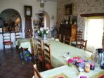 Le Moulin : salle à manger