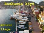 Bozburun side walk along the water, just before the harbor