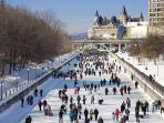 Rideau Canal (Winter) - 10 Minute Walk