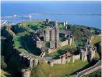 Dover Castle, situated just behind the Gate House. 5 minutes walk to the entrance from the cottage.
