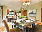 The Dining Area is Great for Entertaining