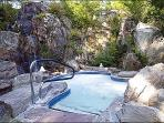 One of the Two Hot Tubs