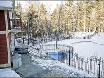 Enjoy the Hot Tubs in the Winter