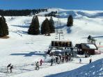 La station de ski du Semnoz
