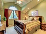 Second floor master bedroom suite at West Coast Villa II