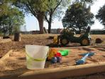 Kid's playground.