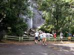 Waterfall in el yunque rain forest