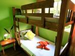 Bedroom 5 with traditional bunks.
