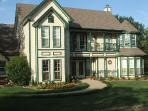 The Covered Bridge Inn has over 5000 sq feet of guest housing.  On 4 private and beautiful acres.