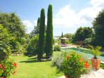 Bastide 2 Pool and landscaped gardens
