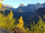 Going to the sun road. Fall 2015
