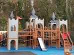 Fantastic children's play area at Castle Archdale
