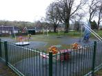 Great play area a short walk from Killadeas Cottage in the little village of Lisnarick