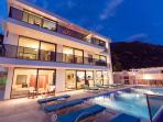 Luxury holiday villa rental in Kalkan with seaview.