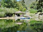 Lodge in Background is Walking Distance to Pool. *** Ask About Our Cool Pool Package Rental.