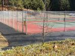 Blue Lake Springs Tennis Court