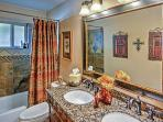 You'll adore the dual sinks in the second bathroom