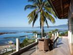Beautiful views across to Padangbaai