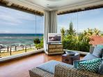 Sweeping ocean views from the Ikat suite