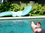 Portable sun lounge, never miss a moment of the days rays, or relax in the shade