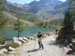 uno dei laghi di La Thuile