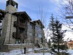 View of Arrowleaf building, true ski-in/out at Deer Valley Penthouse - Deer Valley