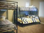 Other half of bunk beds.