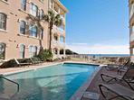 Enjoy Relaxing Poolside at Monterrey!  Beautiful Gulf Breezes and Views!  Take in the salt air and sunshine while...