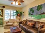 Living Room, HDTV here
